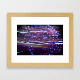 Laserlight Framed Art Print