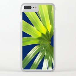 Tropical Plant in the Sun 2 Clear iPhone Case