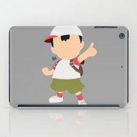 pocket fuel iPad Cases featuring Ness(Smash)Fuel by ejgomez