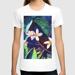 Blooming Plumeria T-shirt