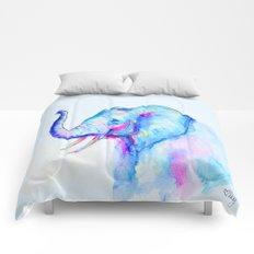 Bubblegum Elephant Comforters