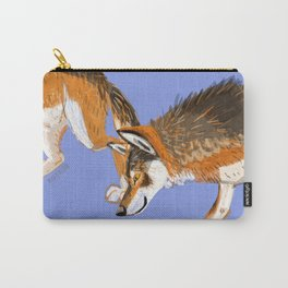 Totem Italian wolf (italicus) Carry-All Pouch