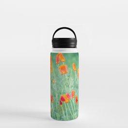 California Poppies Water Bottle