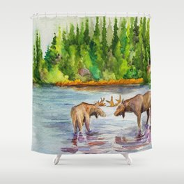 Isle Royale National Park Shower Curtain
