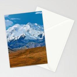 Denali National Park, Mount McKinley Stationery Cards