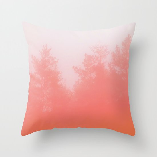 Out of Focus Throw Pillow