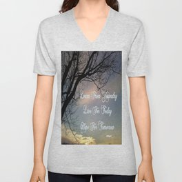 Learn Live Hope Unisex V-Neck