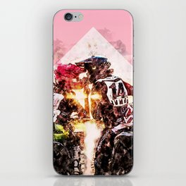 Bikers in love iPhone Skin