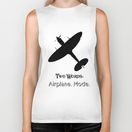 TW: Airplane Mode Biker Tank