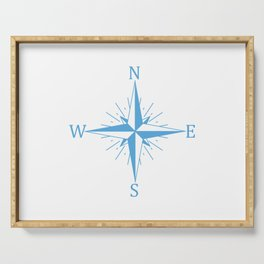 Wind compass Serving Tray