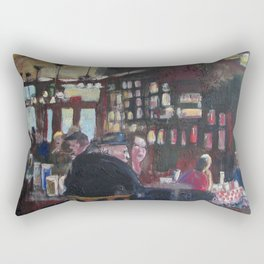 Fanelli's Crowd Rectangular Pillow