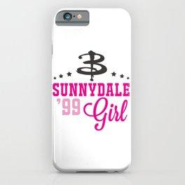 Sunnydale Girl iPhone Case