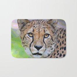 AnimalPaint_Cheetah_20171201_by_JAMColorsSpecial Bath Mat