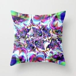 Seeing Soudwaves Throw Pillow