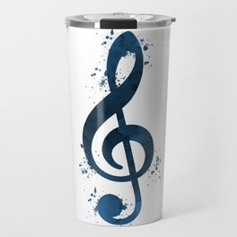 Treble clef Travel Mug