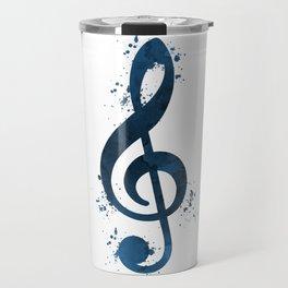 Treble clef Travel Mug