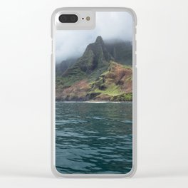 NaPali Coast No. 7 Clear iPhone Case
