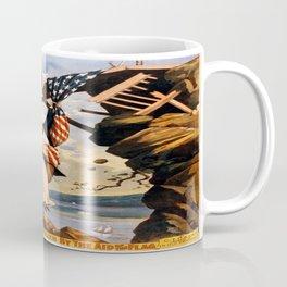 Vintage poster - The War of Wealth Coffee Mug