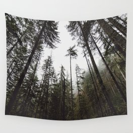 Pacific Northwest Forest Wall Tapestry