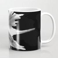 big bang Mugs featuring Big Bang by Robert Morris