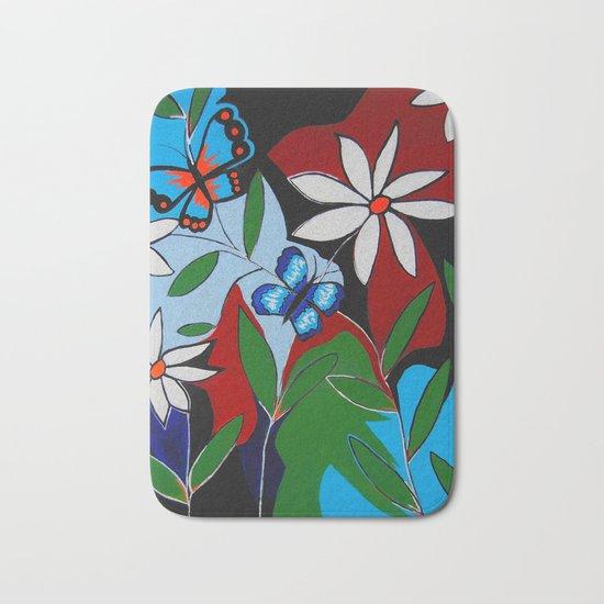 A Butterflies Paradise Bath Mat