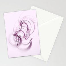 Lavender Swirls Stationery Cards