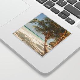 Palm Tree Paradise III Sticker