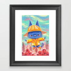 Raincoat 2 Framed Art Print