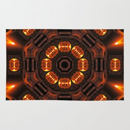 The time portal of history Rug