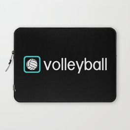 Volleyball (Blue) Laptop Sleeve