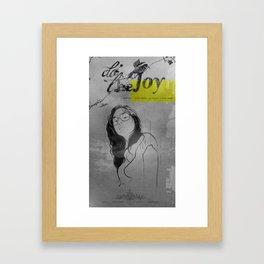Do The Joy Framed Art Print