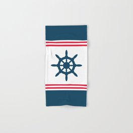 Sailing wheel Hand & Bath Towel