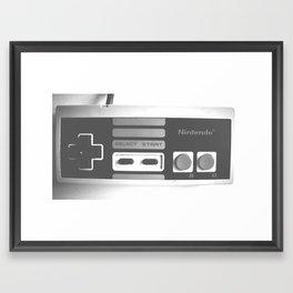 90's Nintendo Framed Art Print