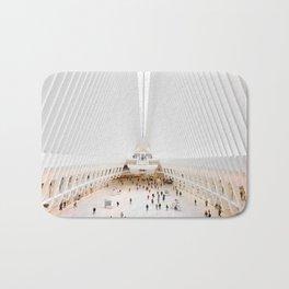 The Oculus at the World Trade Center | Calatrava #architecture #society6 Bath Mat