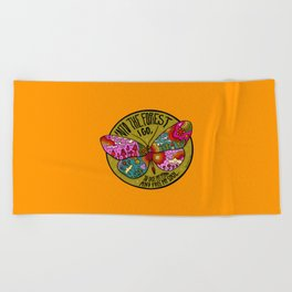 Into the Forest Beach Towel