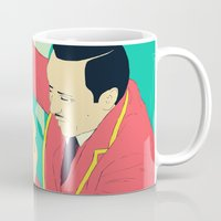 circus Mugs featuring Circus by ministryofpixel