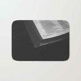 La biblia Bath Mat