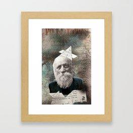 i phone jawn Framed Art Print