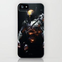 Logan Demons Dreaming iPhone Case
