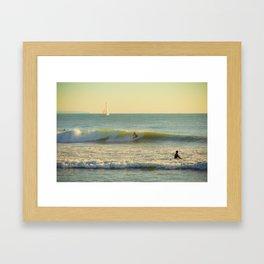 La Vague Framed Art Print