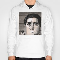 dale cooper Hoodies featuring Dale Cooper by Drawn by Nina