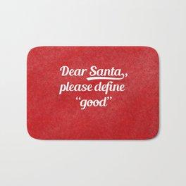 Dear Santa... Bath Mat