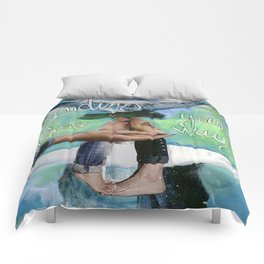 Sending A  Kiss Your Way Comforters