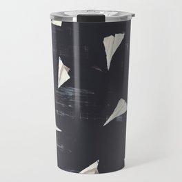 Paper Planes-Navy Travel Mug
