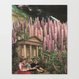 The Garden of Unearthly Delights Canvas Print