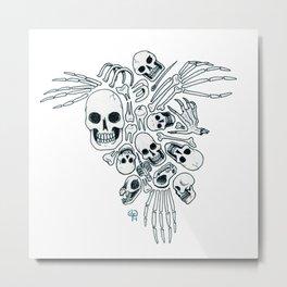 Bones (Wonderful Mess Series) Metal Print