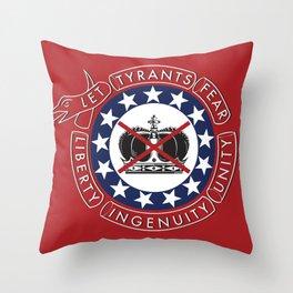 Give Me Liberty Throw Pillow