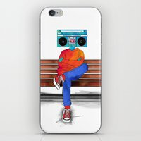 radiohead iPhone & iPod Skins featuring Radiohead by Amarelle07