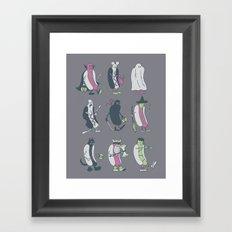 HALLO-WEENIES Framed Art Print