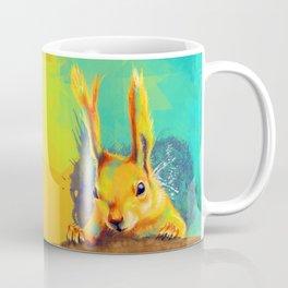 Tassel-eared Squirrel Coffee Mug